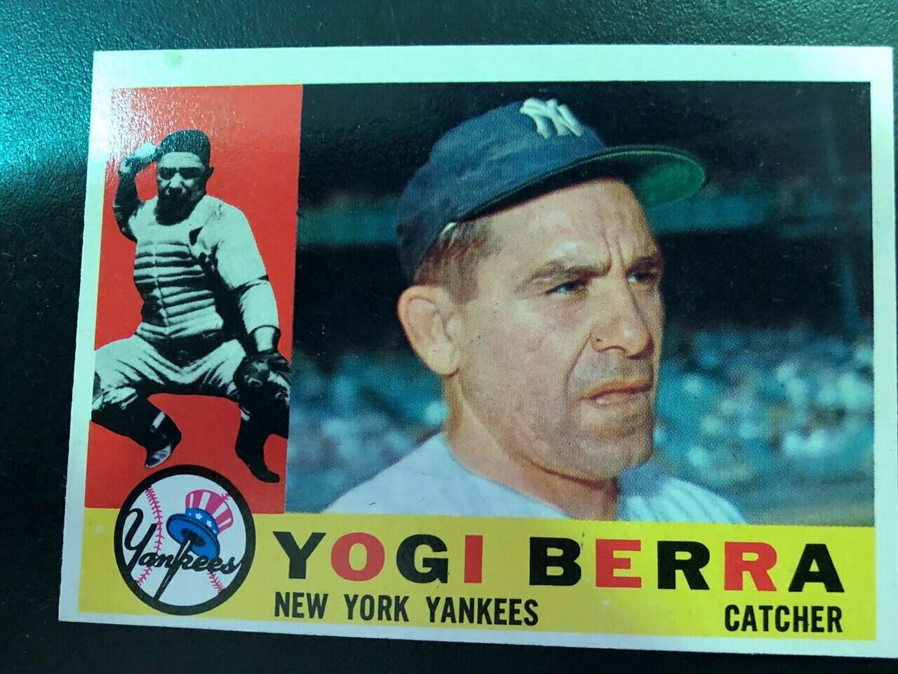 1960 Topps #480 Yogi Berra, $100