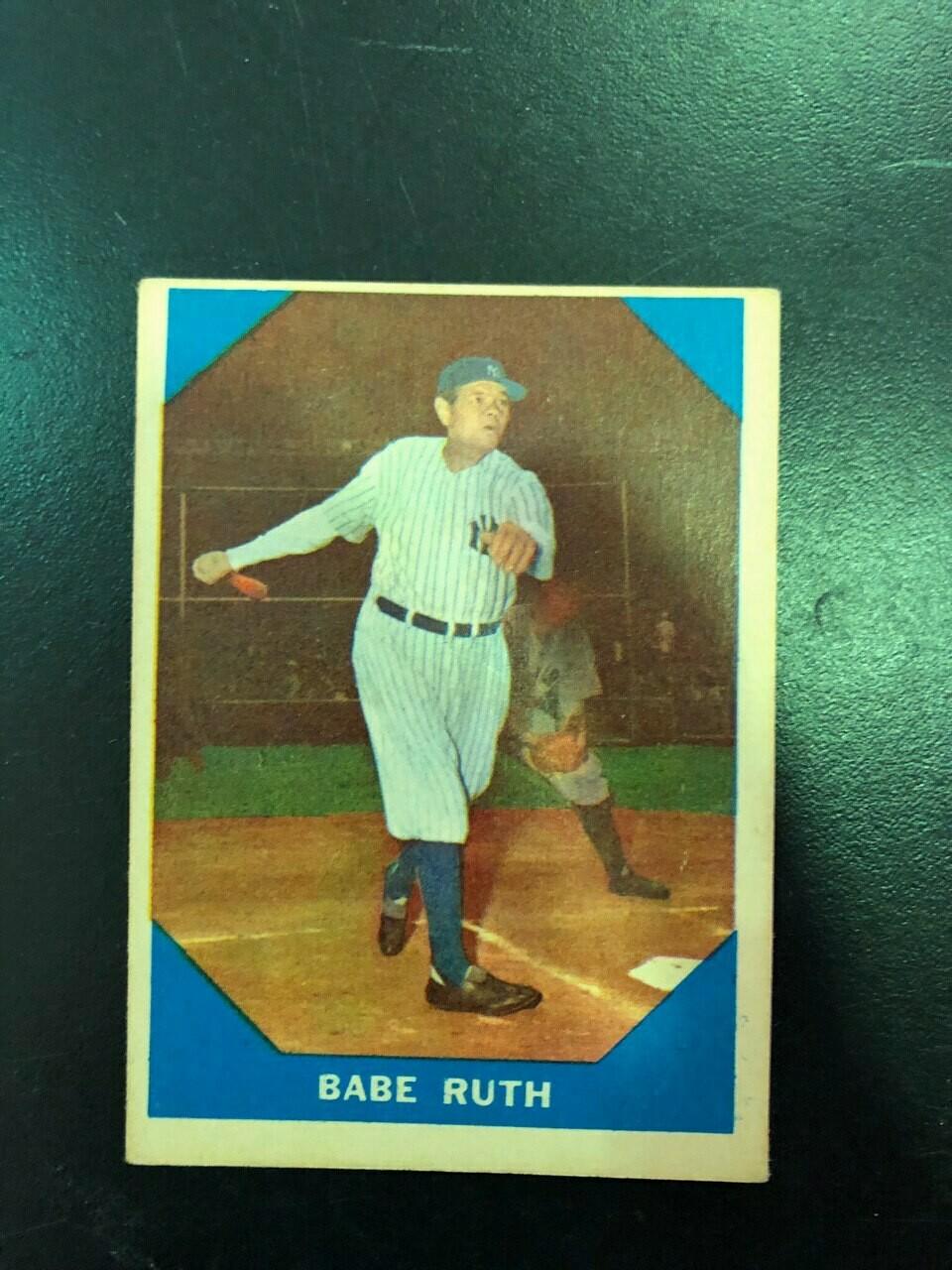 1960 Fleer #3 Babe Ruth, List $100, Sell $70