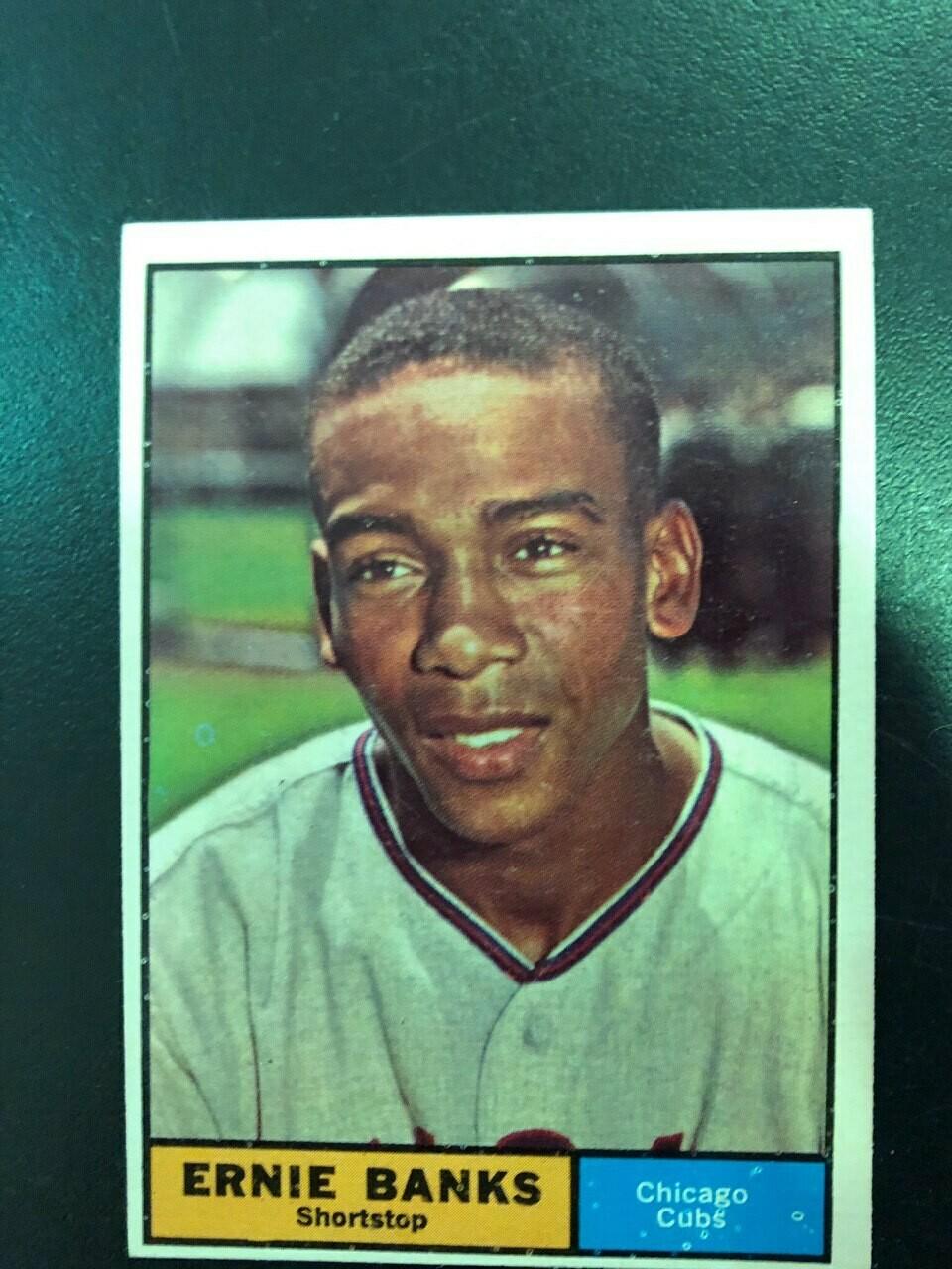 1961 Topps #350 Ernie Banks, List $50, Sell $45