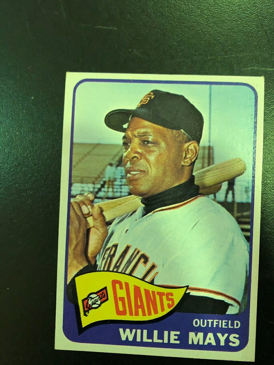 1965 Topps #250 Willie Mays, $200