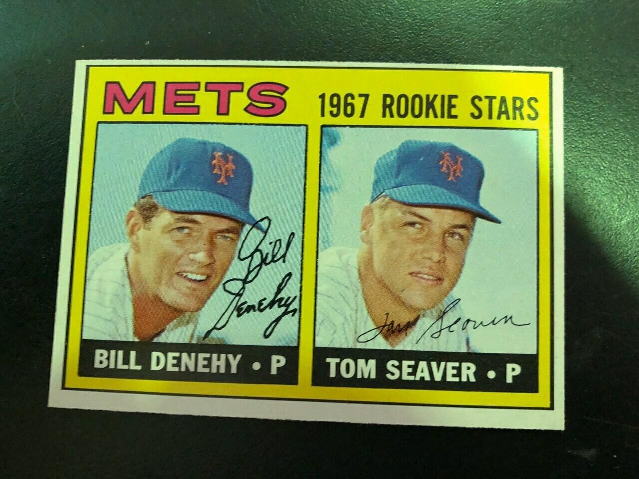 1967 Topps #581 Tom Seaver rookie, List $1000, Sell $895