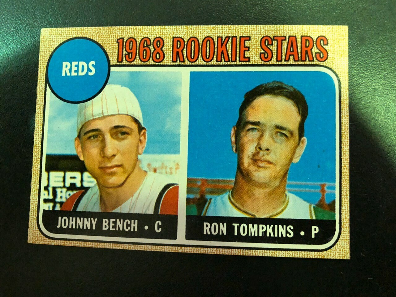 1968 Topps #247 Johnny Bench rookie