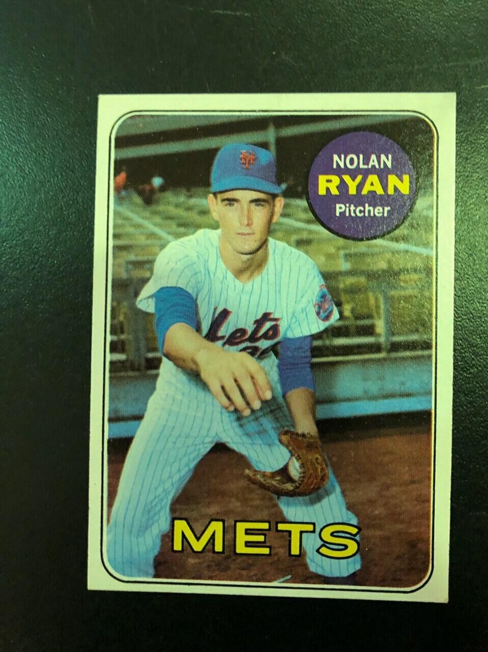 1969 Topps #533 Nolan Ryan, $250