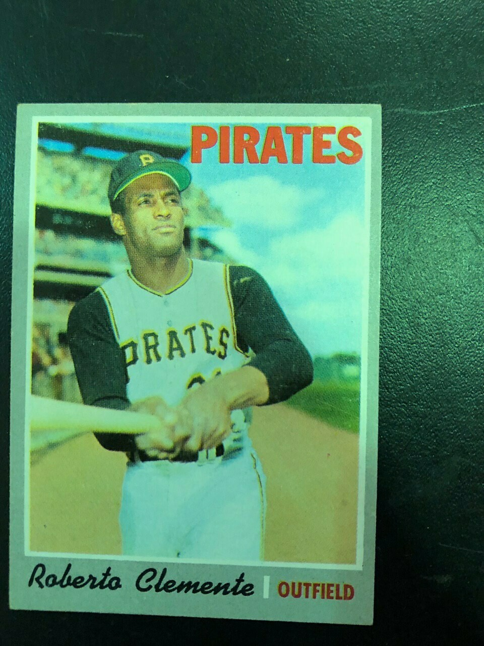 1970 Topps #350 Roberto Clemente, List $60, Sell $50