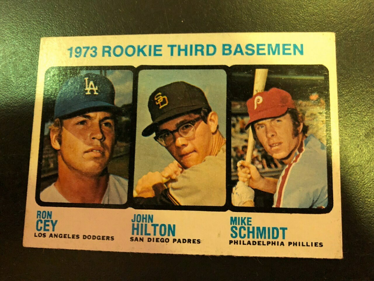 1973 Topps #615 Mike Schmidt rookie