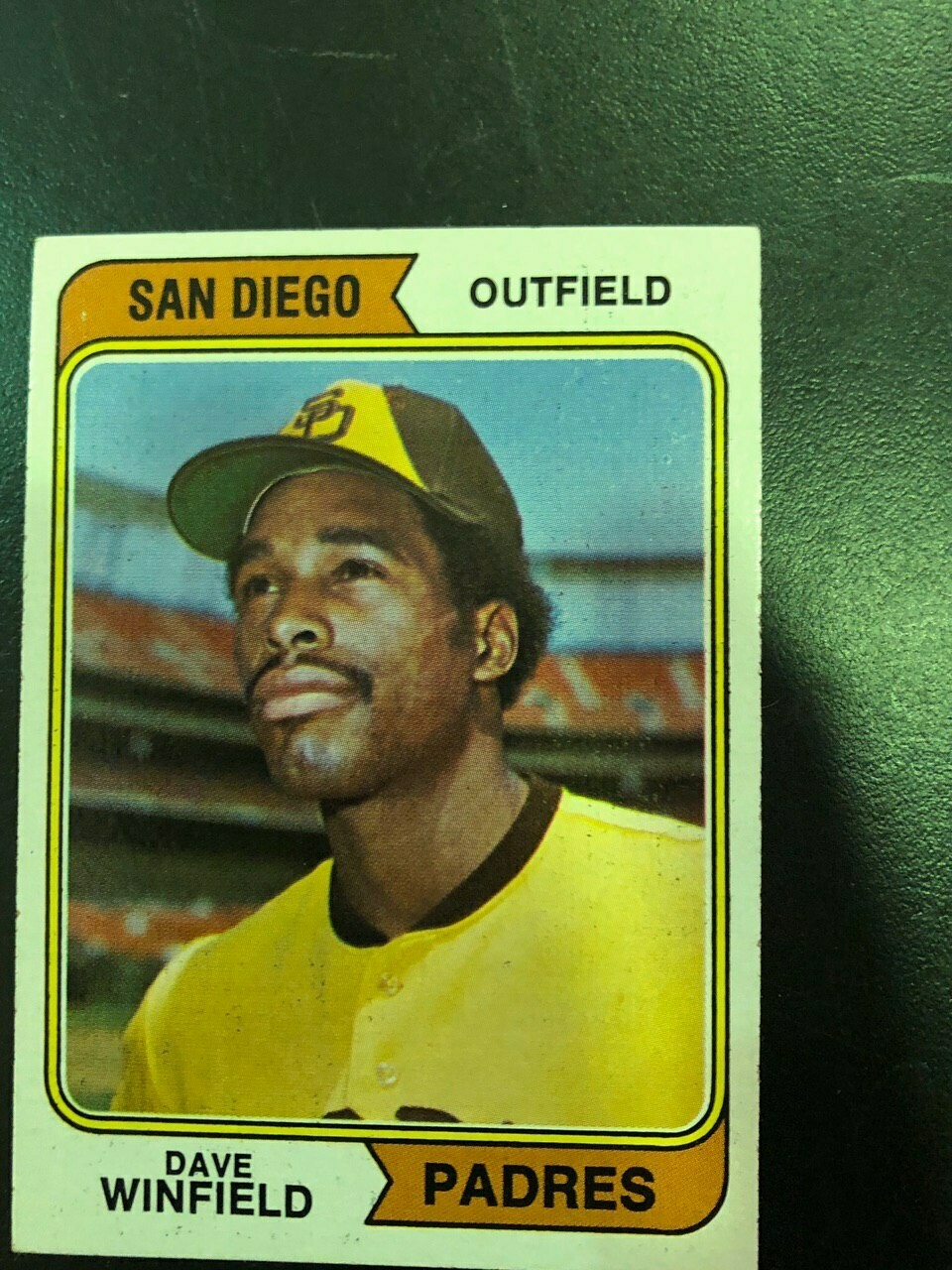 1974 Topps #456 Dave Winfield rookie,