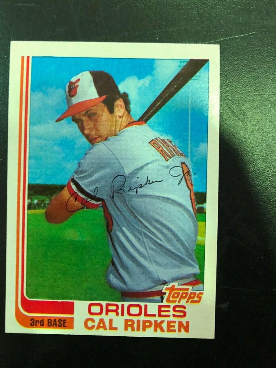 1982 Topps Traded #98T Cal Ripken Jr. rookie, $125