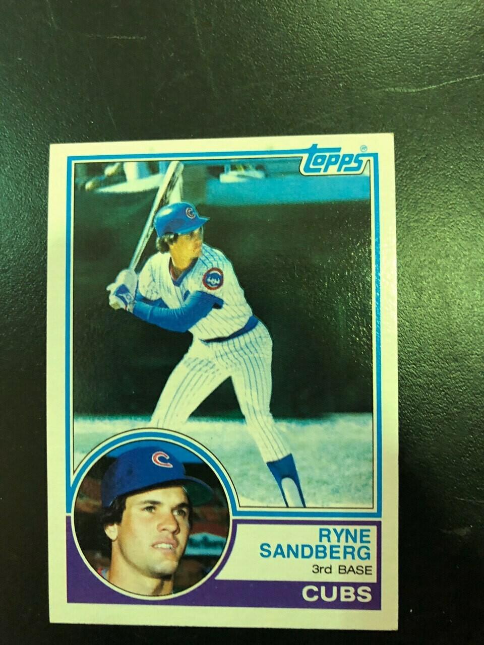 1983 Topps #83 Ryne Sandberg rookie, $20