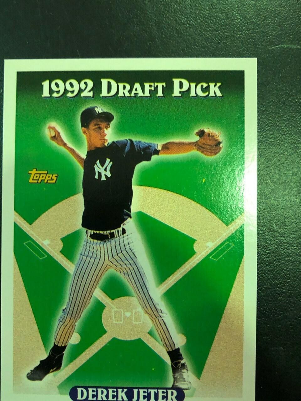 1993 Topps Derek Jeter rookie, $25
