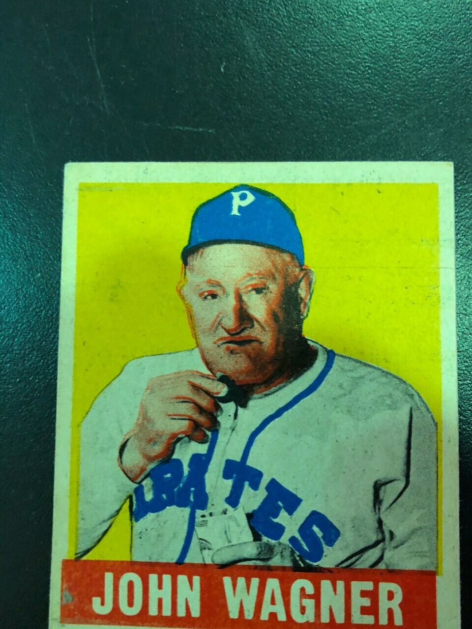 1949 Leaf #70 Honus Wagner, List $500, Sell $395