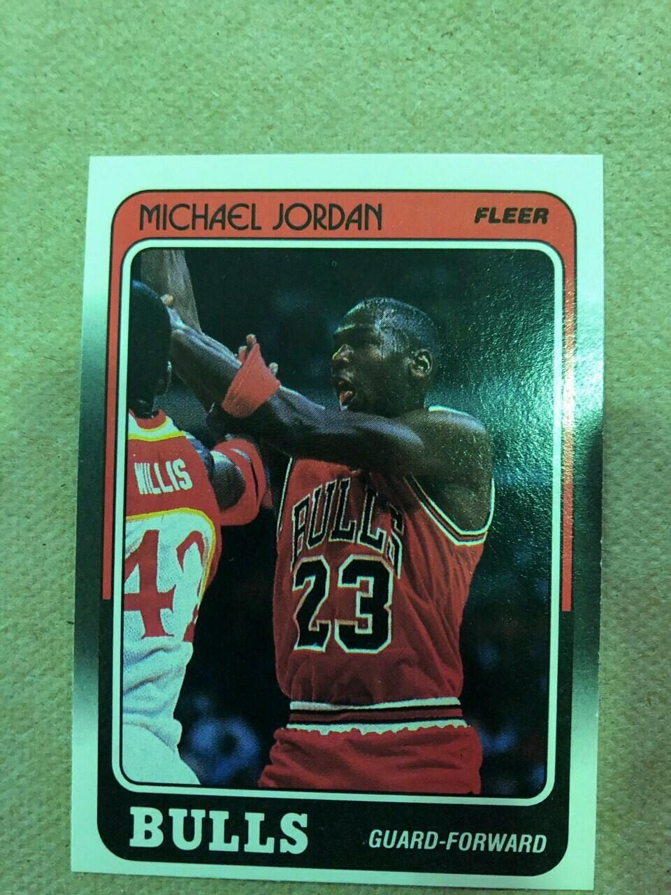 1988/89 Fleer Michael Jordan $50
