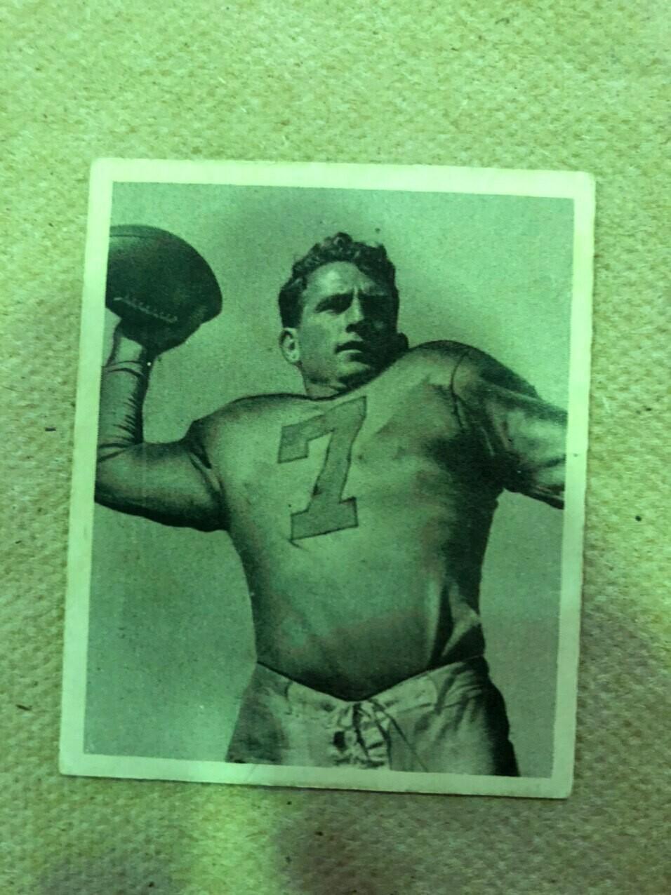1948 Bowman #26 Bob Waterfield rookie, $200