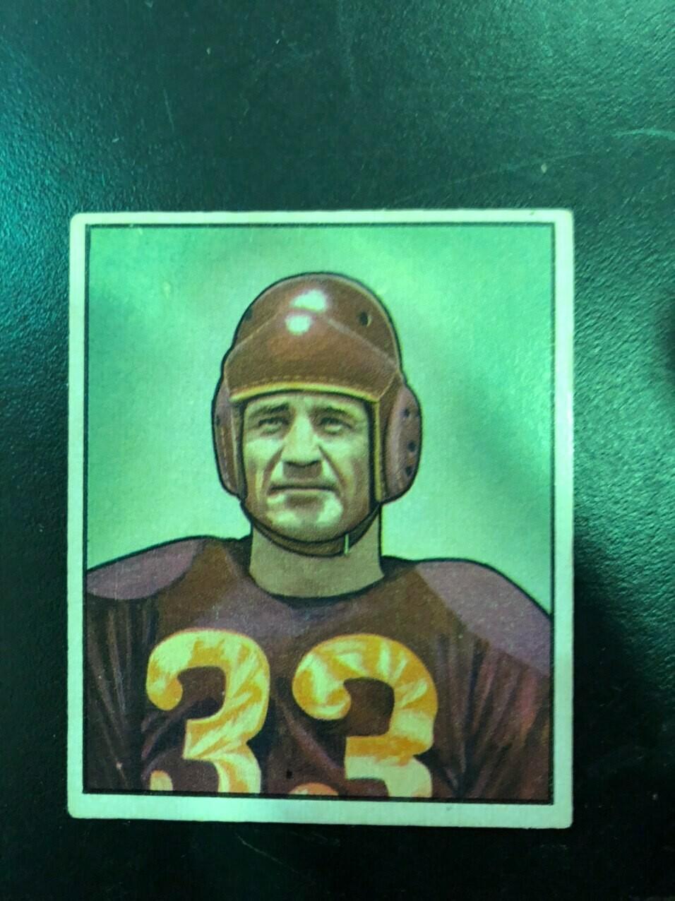 1950 Bowman #100 Sammy Baugh, List $250, Sell $225