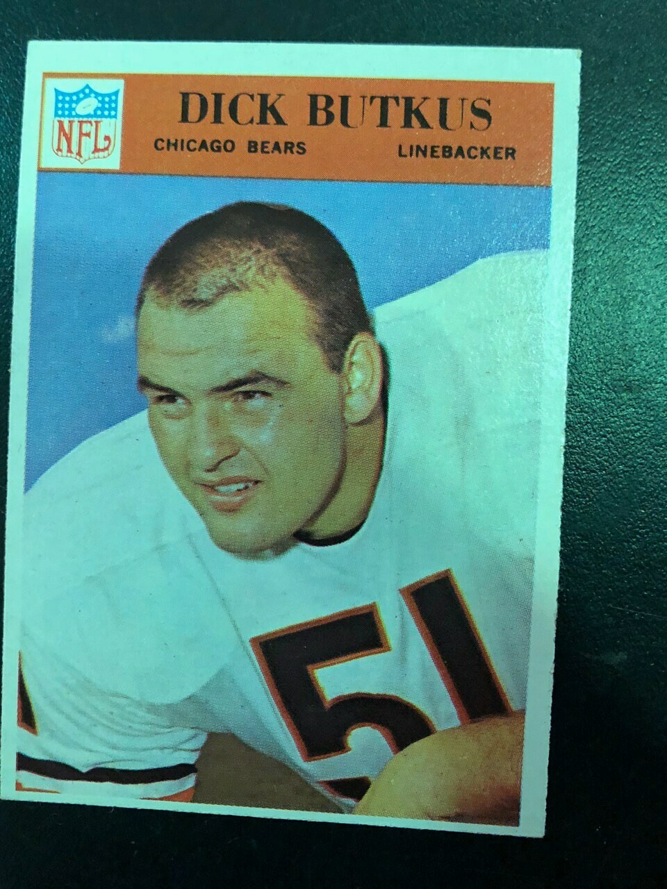 1966 Philadelphia #31 Dick Butkis, $295