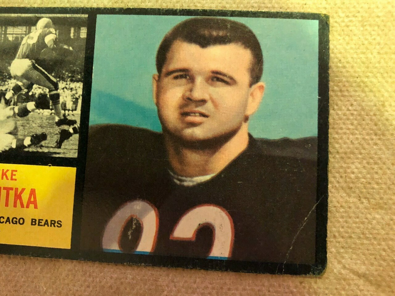 1962 Topps #17 Mike Ditka rookie, List $300, Sell $510