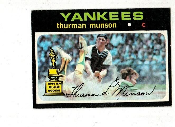 1971 Topps Thurman Munson