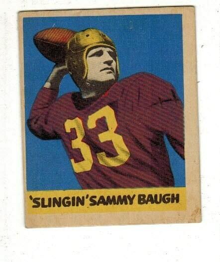 1949 Leaf #26 Sammy Baugh