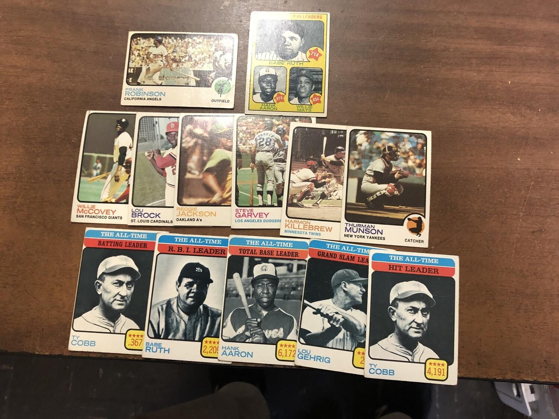 1973 Topps Baseball Starter set; 478 cards