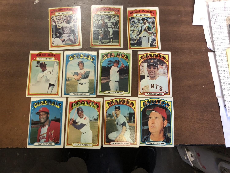 1972 Topps Baseball Starter set 451 cards
