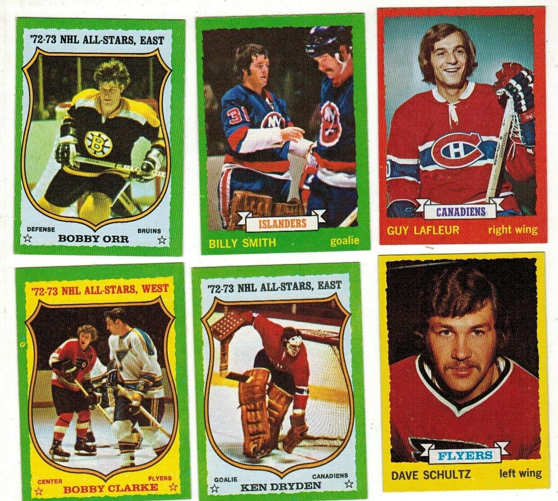 1973/74 Topps Hockey set Ex/Mint or Better