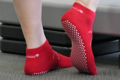 REDuce Falls Socks® (Anklet)