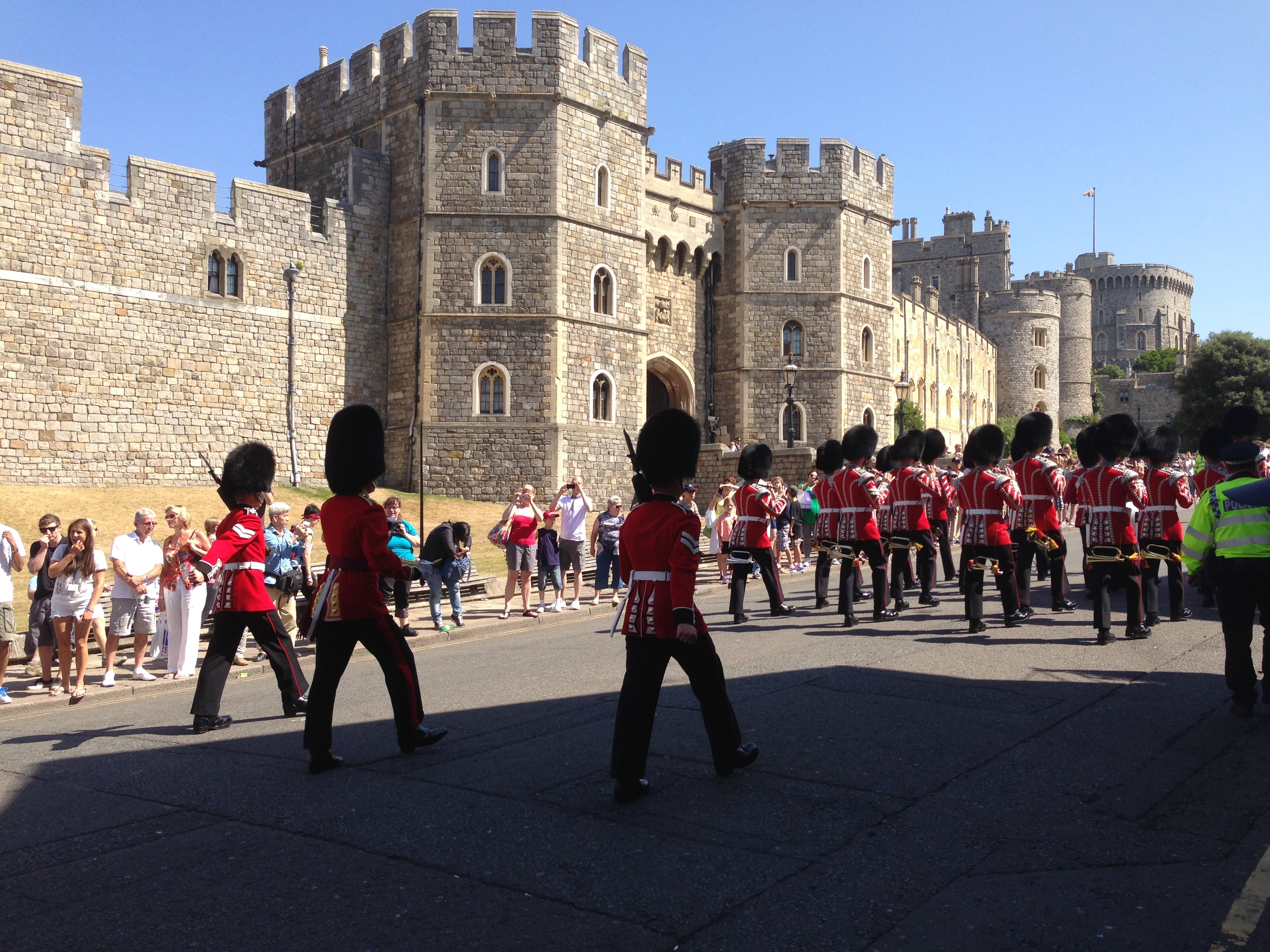 Changing of the Guard at Windsor