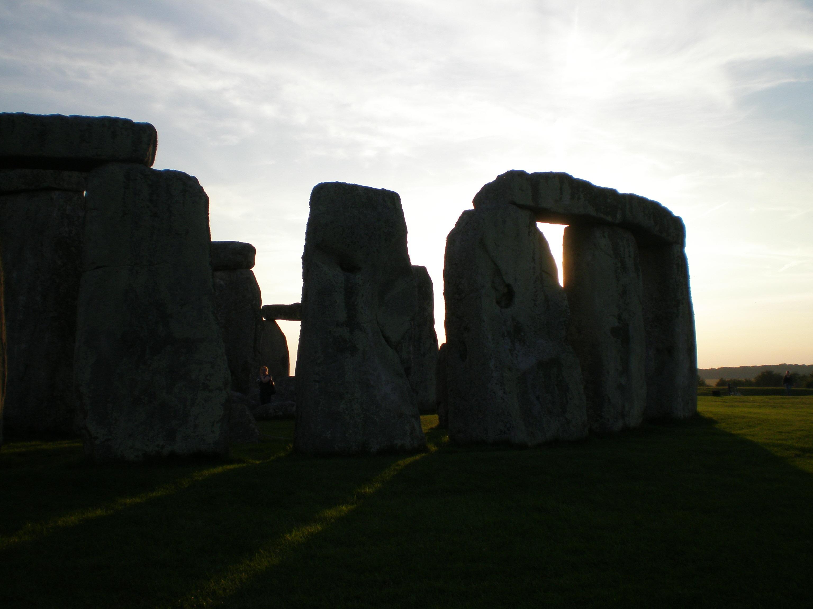 Sunset Stonehenge Visit
