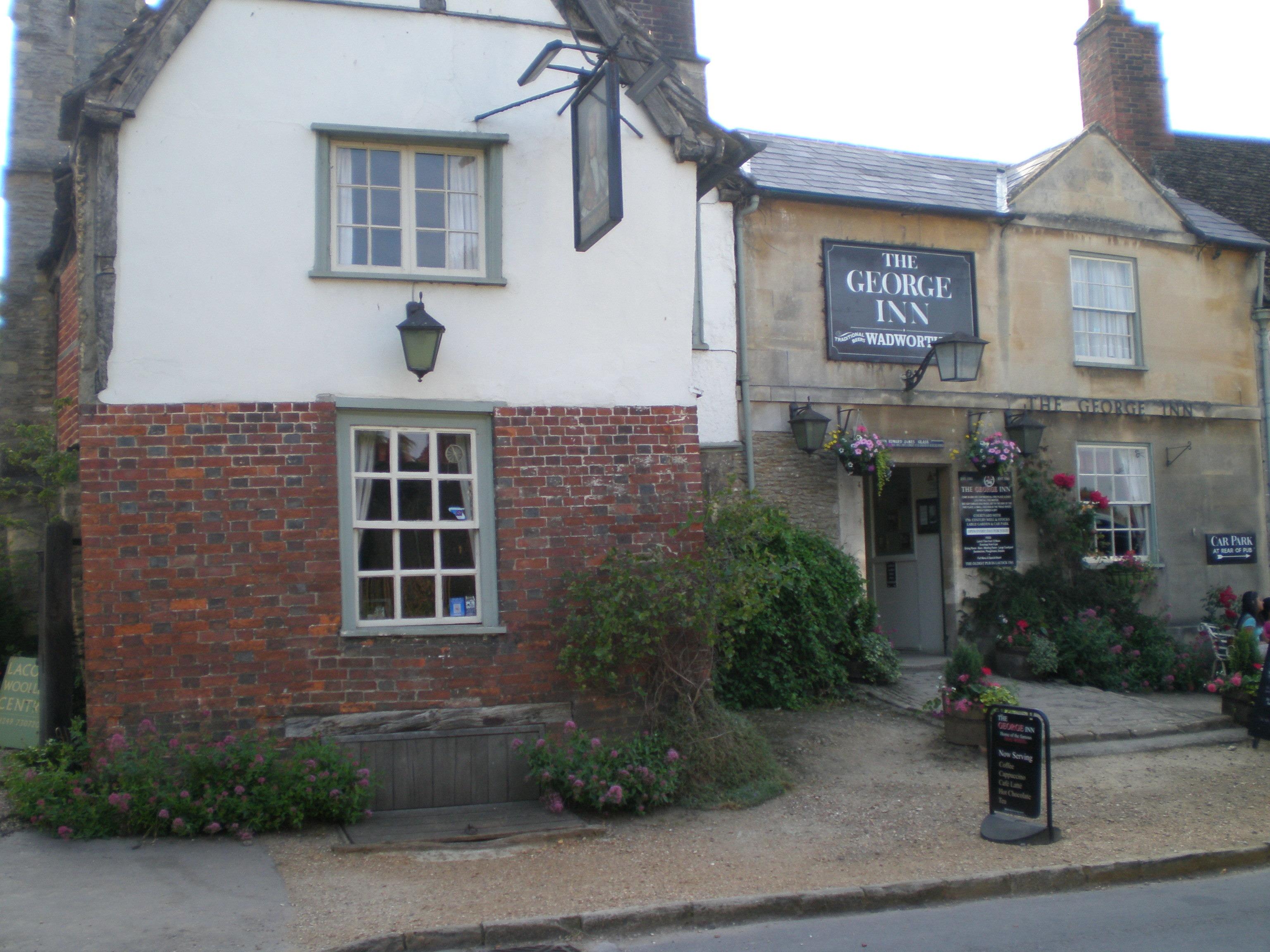 George Inn dates to 1361