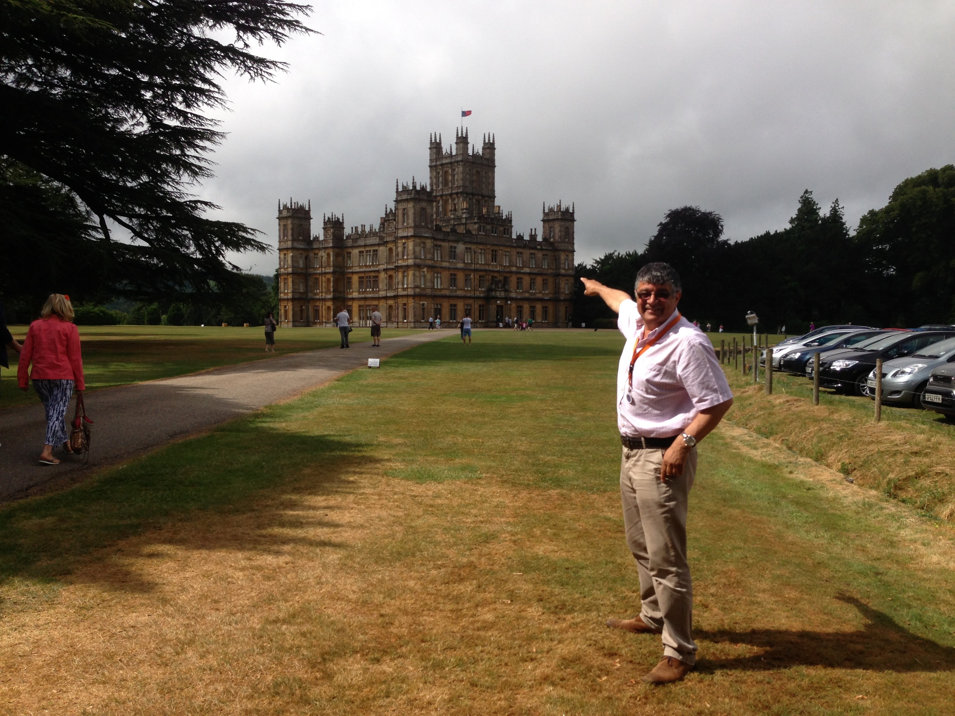 Highclere Castle (Downton Abbey) & Village visit HCDA