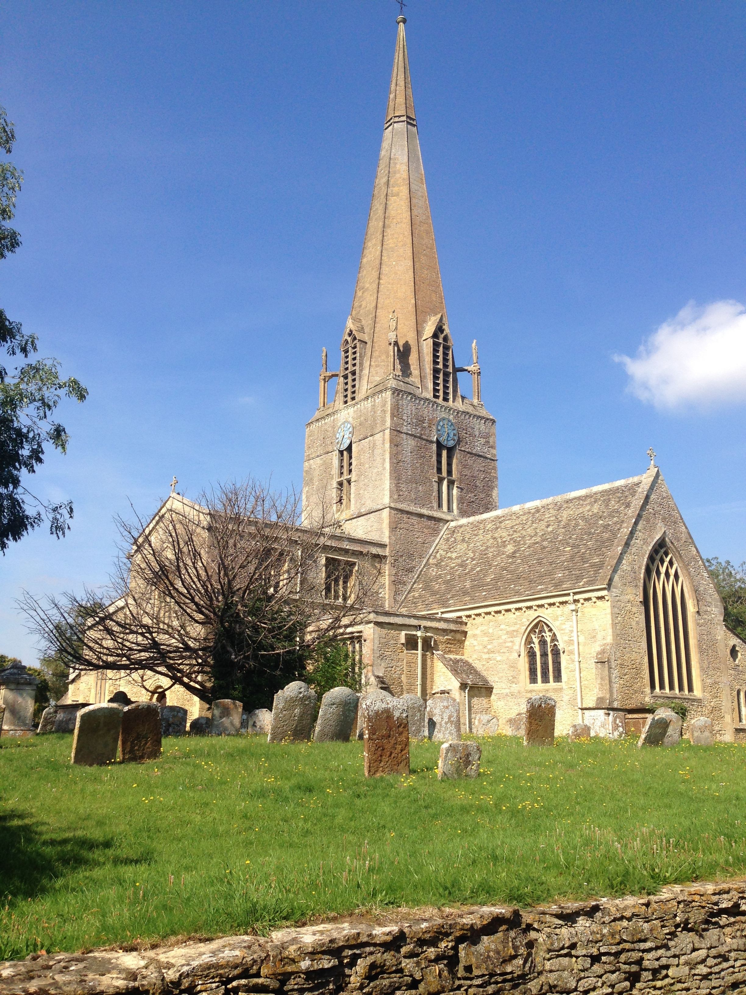 St Mary,s Church Bampton(Downton village]