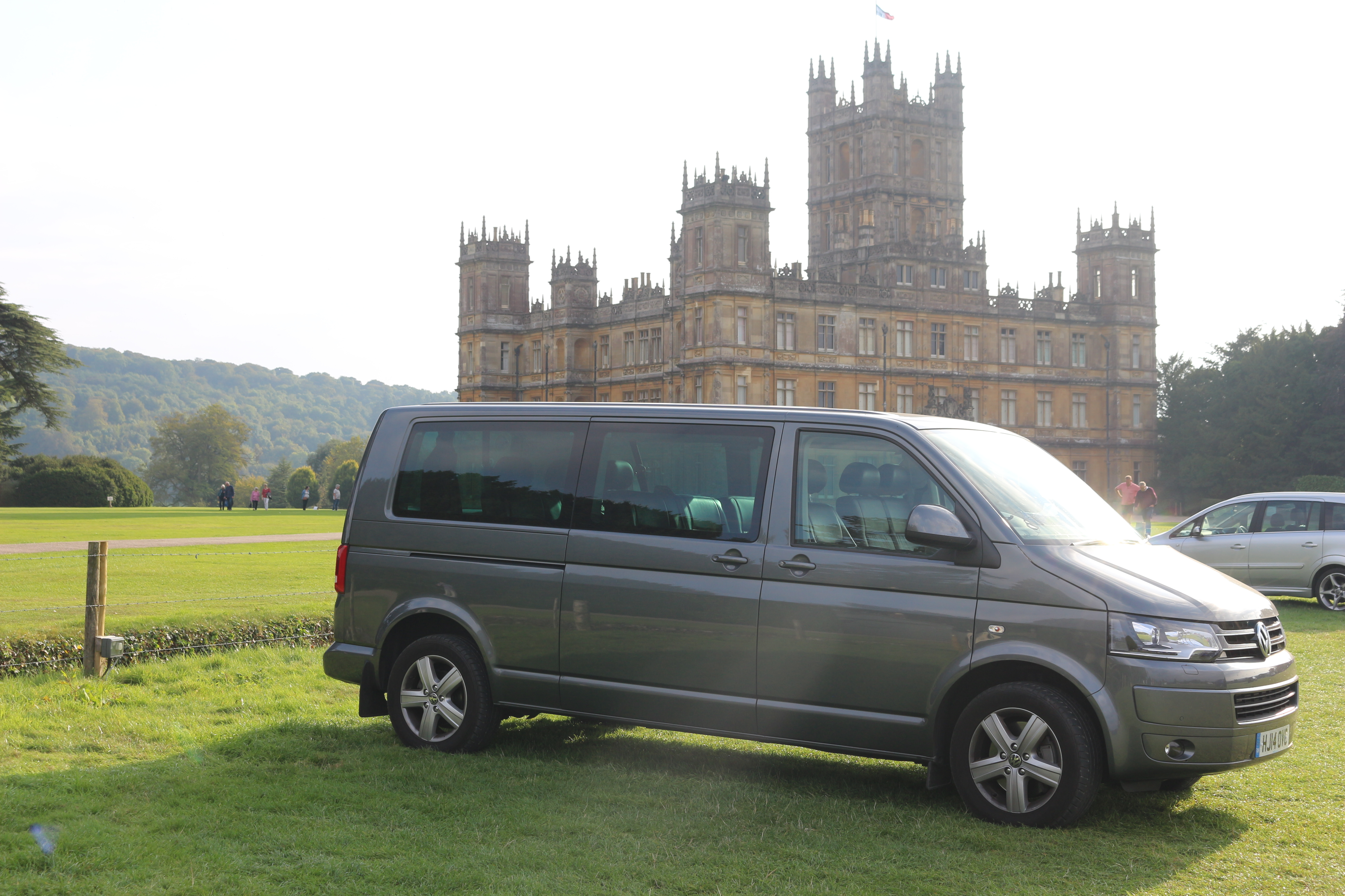 London Private Tours Luxury Guided Vehicle at Highclere Castle