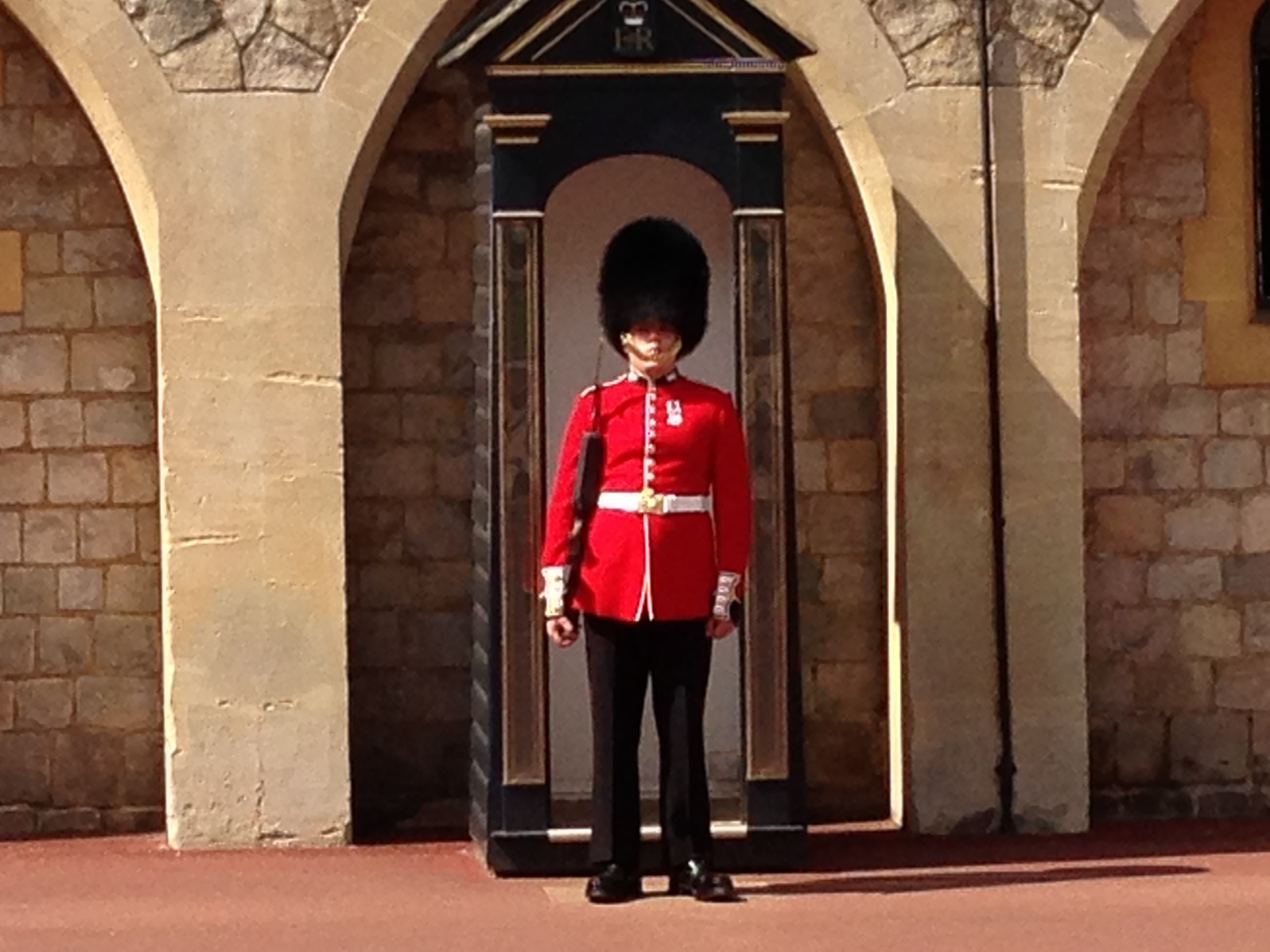 Guard  Duty at Windsor Castle