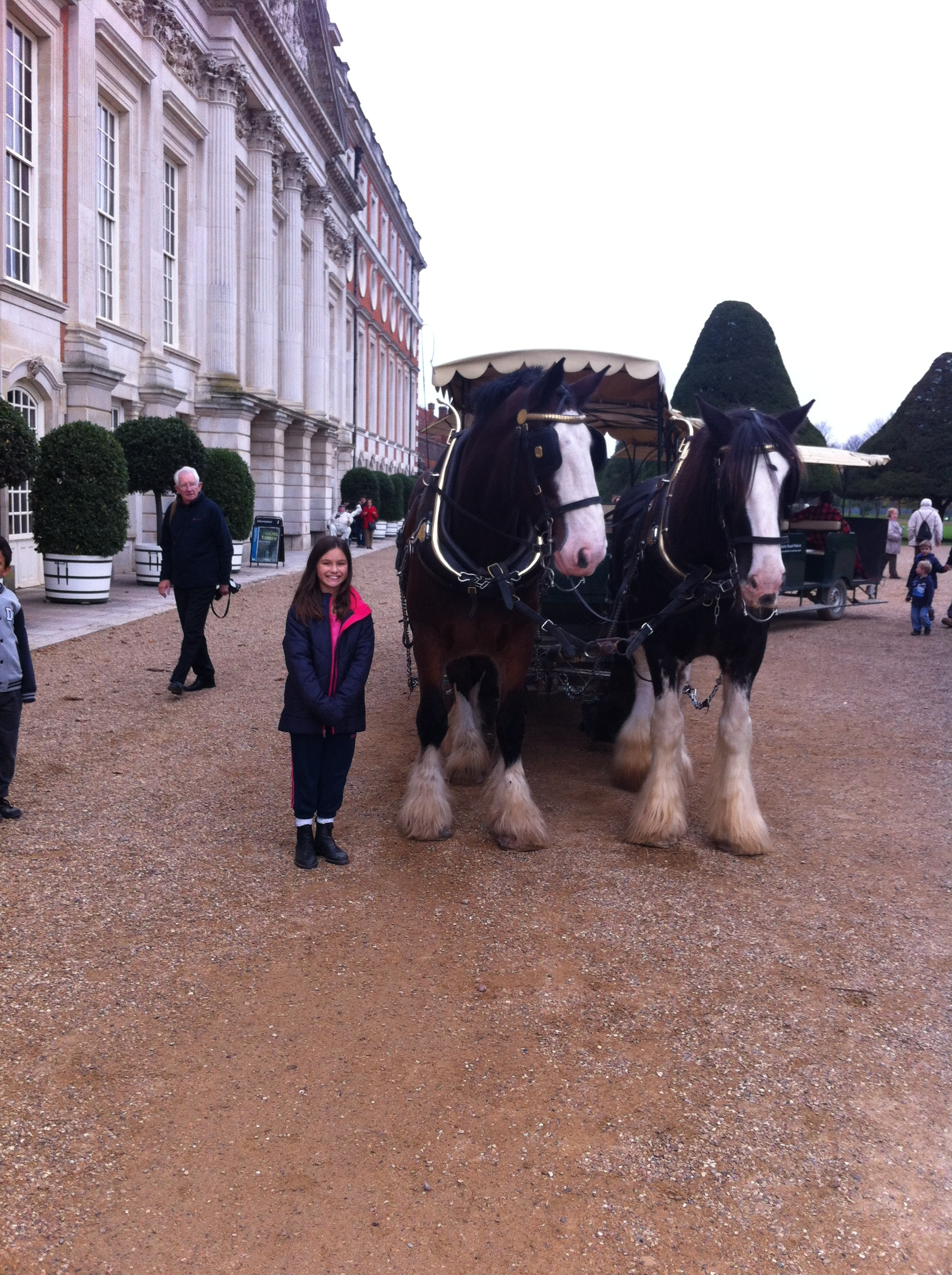 Carridge Ride at Hampton court