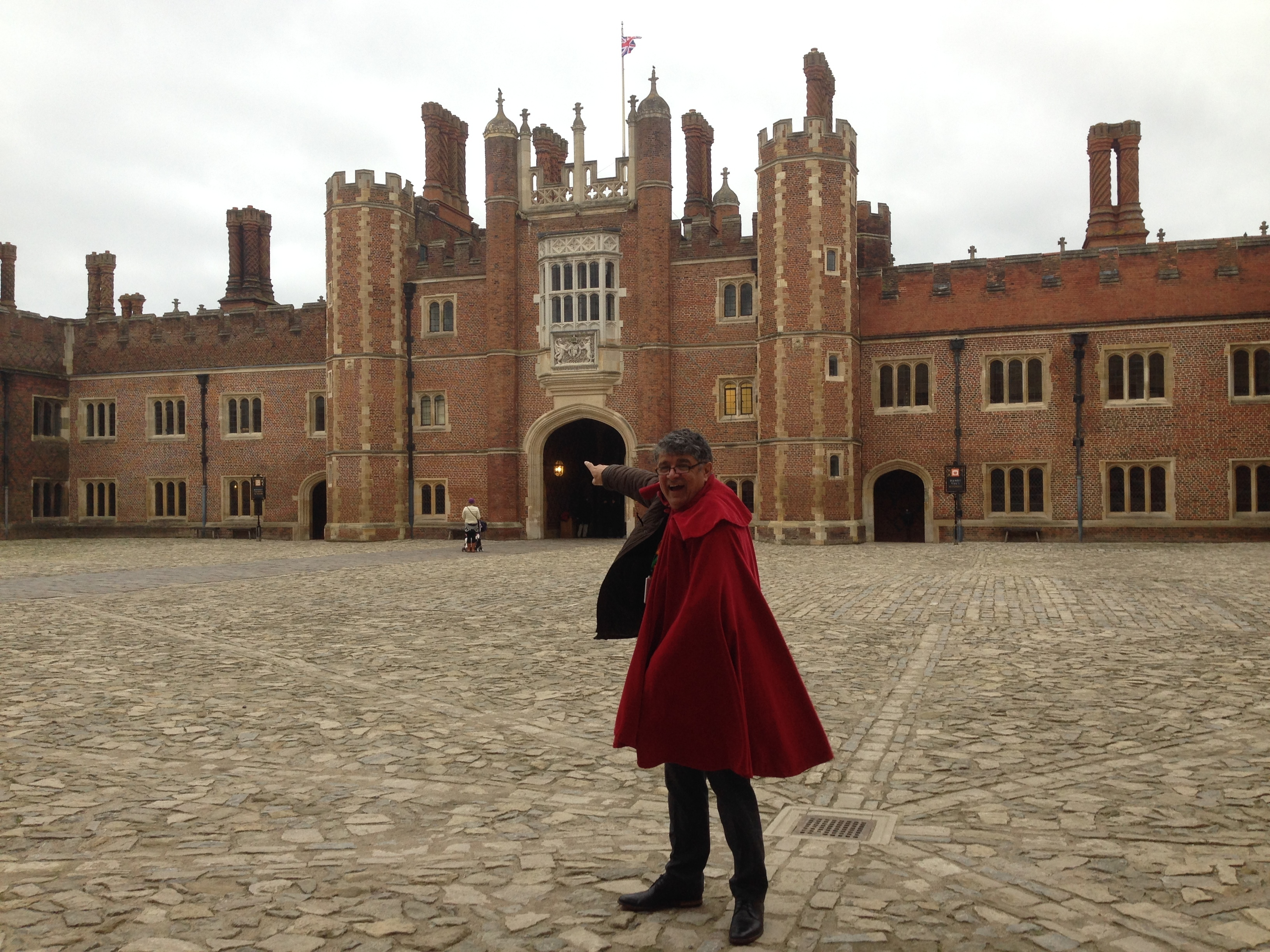 View of ther Tudor Entrance at Hampton court