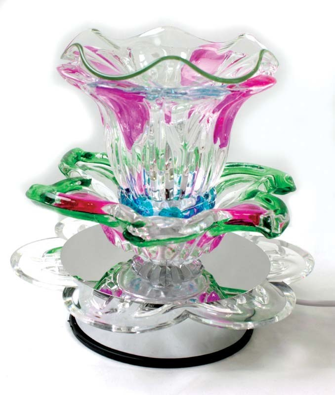 Electric Lamp Oil Burner - Lily