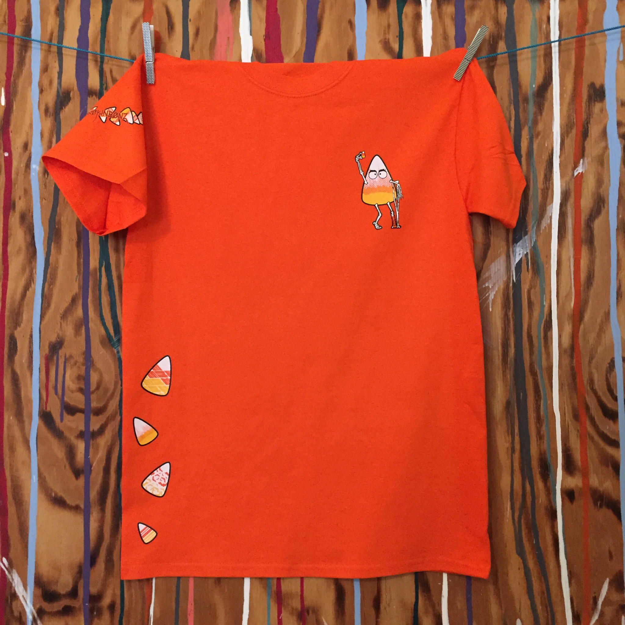 JIMMY CRACKED HIS CORN Unisex Tee...Available with custom fraction JCHCUT