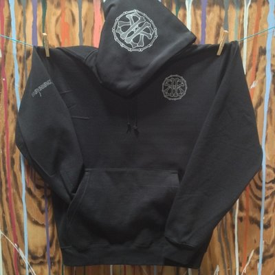 CIRCLE13 Unisex Pull Over Hoodie...Two logo colors available