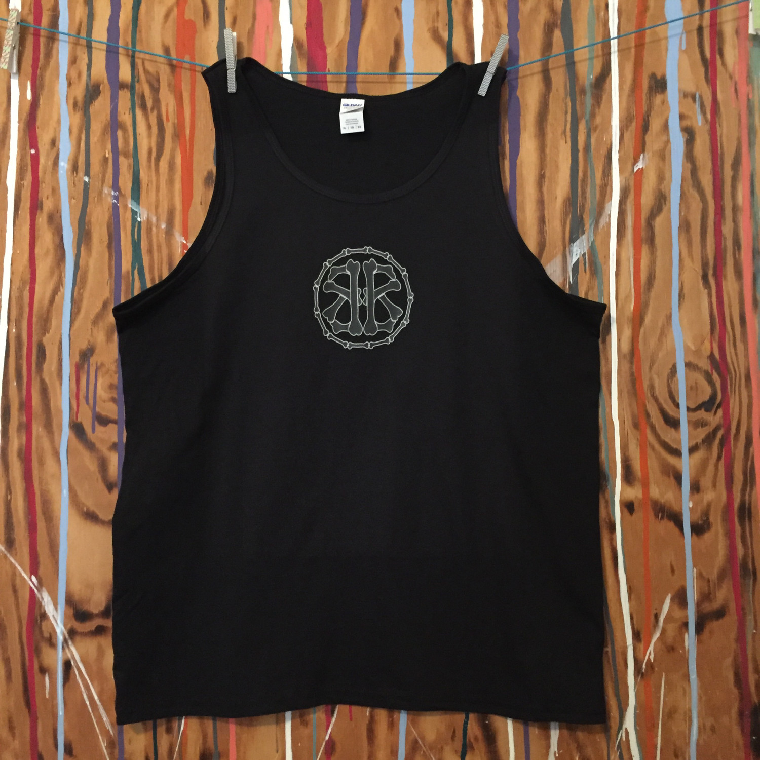 Circle13 Men's Tank Top...Two logo colors available