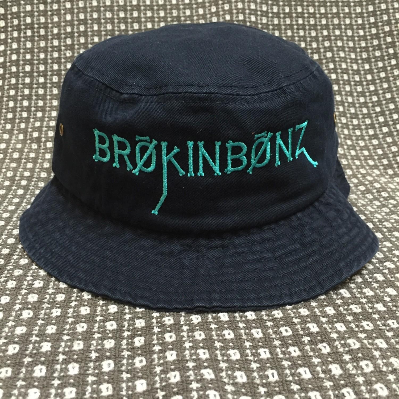 BRØKINBØNZ Embroidered Adult Bucket Cap