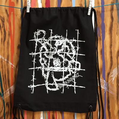 SKETCHY Drawstring Backpack