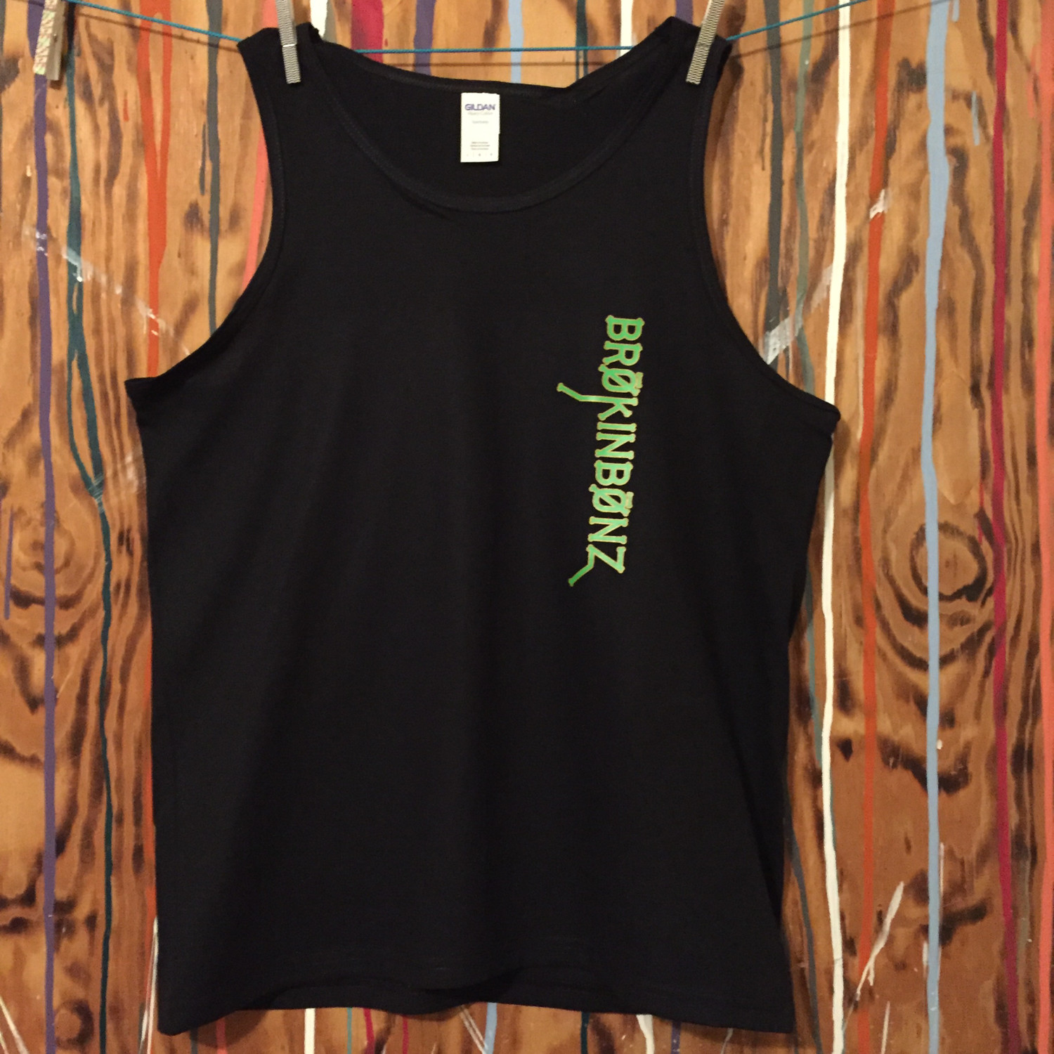 ORIGINAL BRØKINBØNZ Men's Tank Top...Two design color choices available