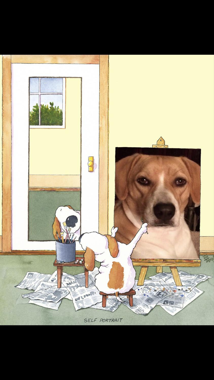 Customized Self Portrait