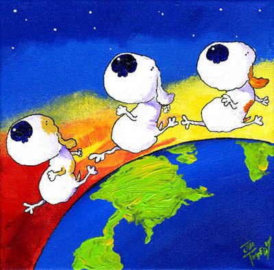 Doggies Make the World Go Round
