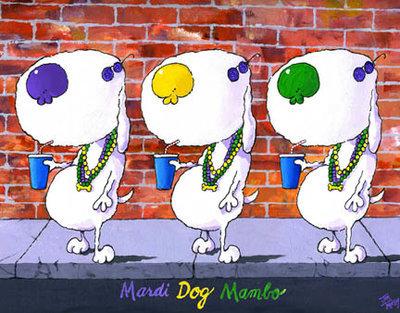 Mardi Dog Mambo