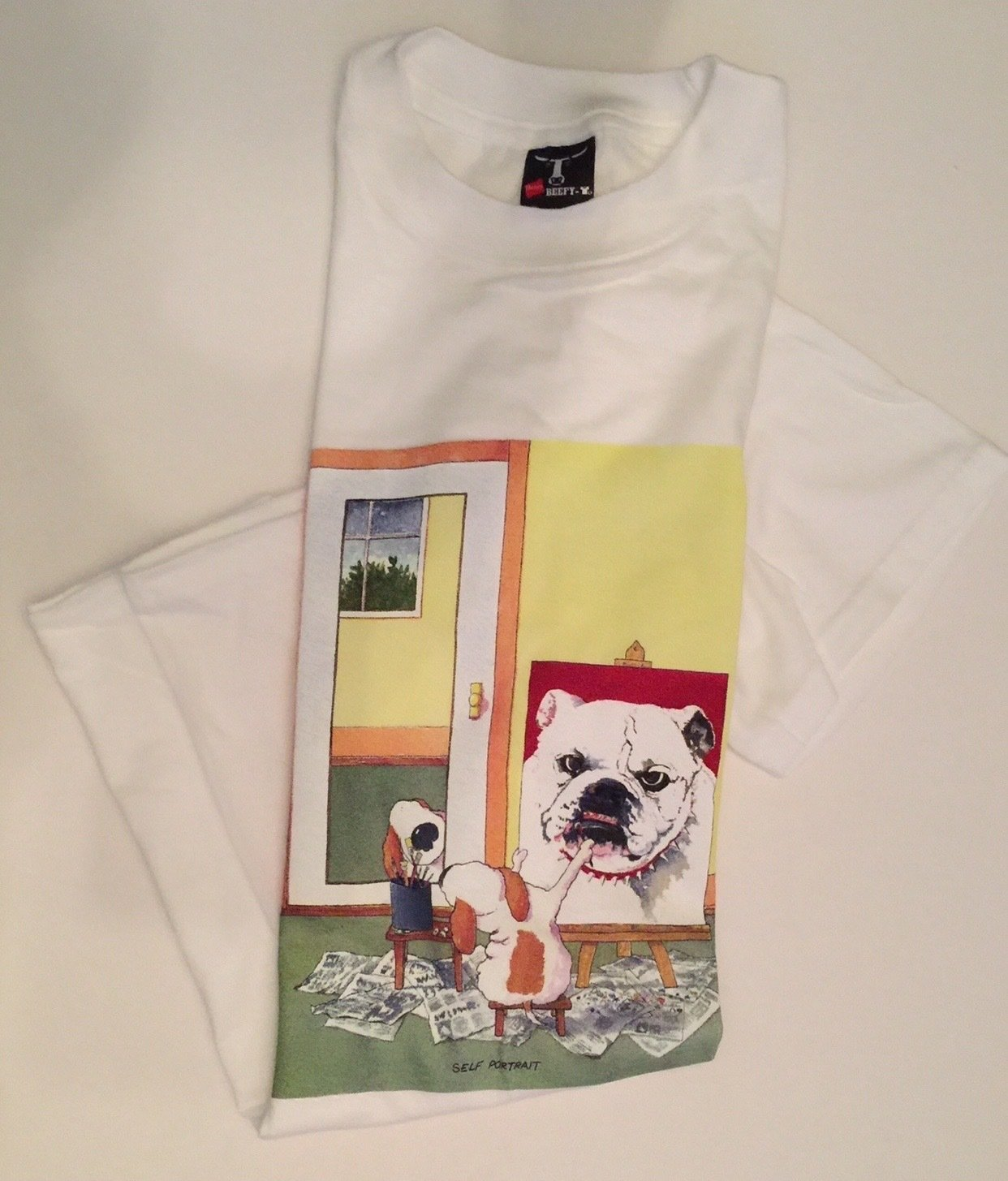 S/SBullDogT-ShirtMedium