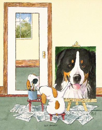 Self-Portrait Bernese