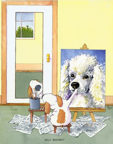 Self-Portrait Poodle