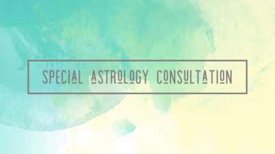 Astrology Consultation 1hr