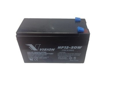 Vision 12V 9AH UPS Batteries (Box of 5)