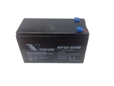 Vision 12V 9AH UPS Batteries (Box of 5) Wholesale